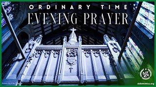 7/24/21 Saturday - 4:45 pm Evening Prayer