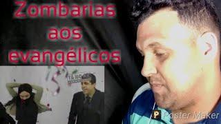 GOSPEL BELEZA/GLOBO FAZ VIDEO ZOMBANDO DE EVANGÉLICOS #BOICOTEAREDEESGOTO-REACT