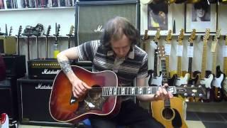 1970 Martin D28 & 1982 Gibson Dove