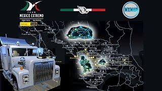 🔴 Liberando Mapa de Nayarit y Aguascalientes, DINA 861 | Mexico | American Truck Simulator
