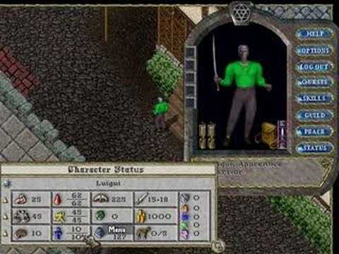 Best Ultima Online Character Templates Pictures >> New To Ultima ...