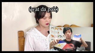 Hi Philippines, I'm Korean in the Philippines (REACTION & TRANSLATION)