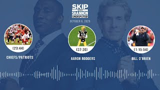 Chiefs/Patriots, Aaron Rodgers, Bill O'Brien (10.6.20) | UNDISPUTED Audio Podcast
