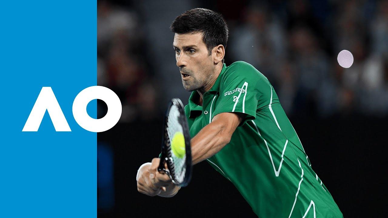 Milos Raonic vs Novak Djokovic - Match Highlights (QF) | Australian Open 2020