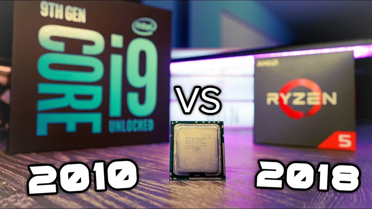 A XEON from 2010     Vs 2019's Ryzen 5 2600 AND i9-9900k
