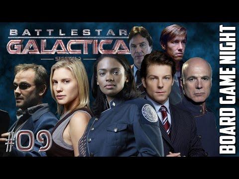Battlestar Galactica #09 Session 2 - Board Game Night