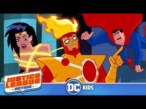 Justice League Action | Memory Trouble | DC Kids