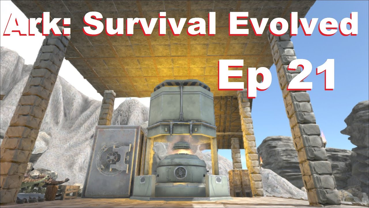 amo plays ark survival evolved ep 21 industrial forge and new super argy gameplay youtube. Black Bedroom Furniture Sets. Home Design Ideas