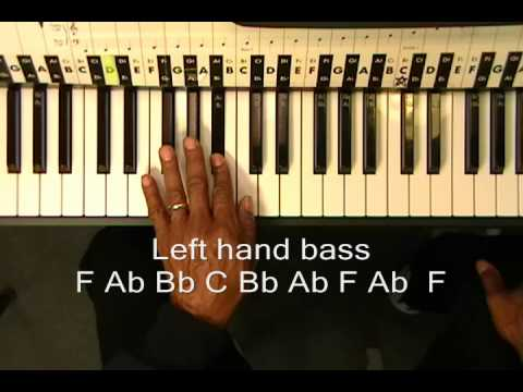 Piano piano chords melody : Pharrell Williams HAPPY Piano Improv Lesson Part 1 Verse Chords + ...