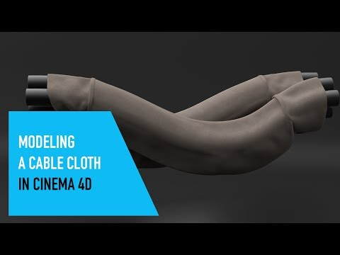 SQ - Modeling Cable Cloth in Cinema 4D