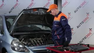 Kuinka vaihtaa sytytyspuolat HONDA JAZZ 1 -merkkiseen autoon [OHJEVIDEO AUTODOC]