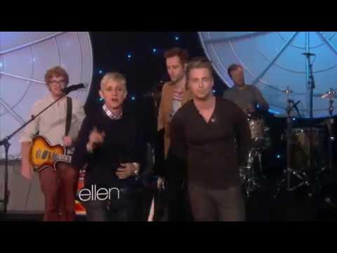 OneRepublic - Feel Again (Ellen)