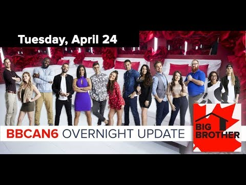 Big Brother Canada 6 | April 24, 2018 | Overnight Update Podcast