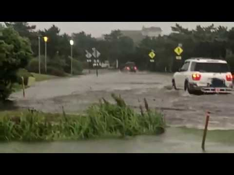 Town Of Duck NC 12 Flooding 072418