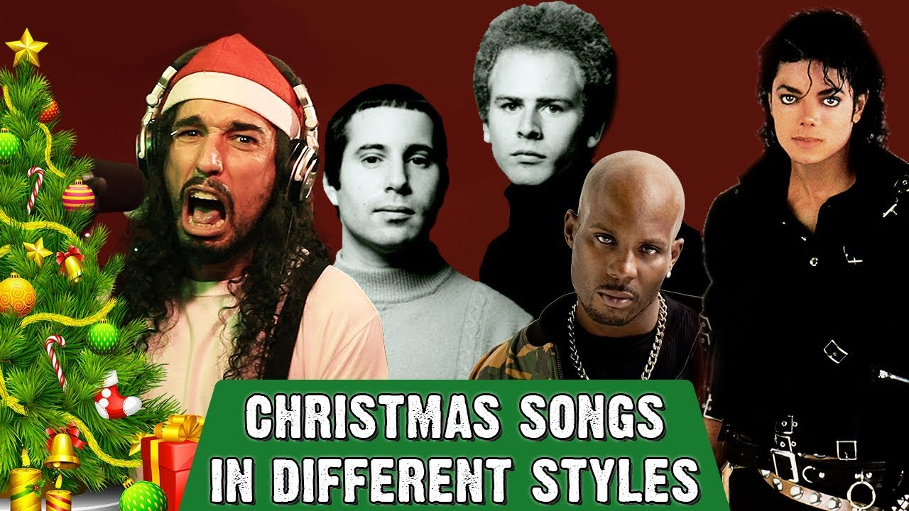 christmas songs in different styles youtube - Metallica Christmas Songs