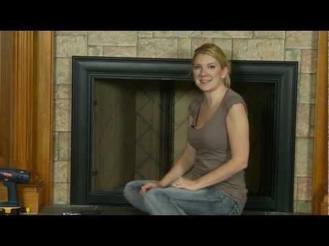 Celebrity Fireplace Door - How to Install