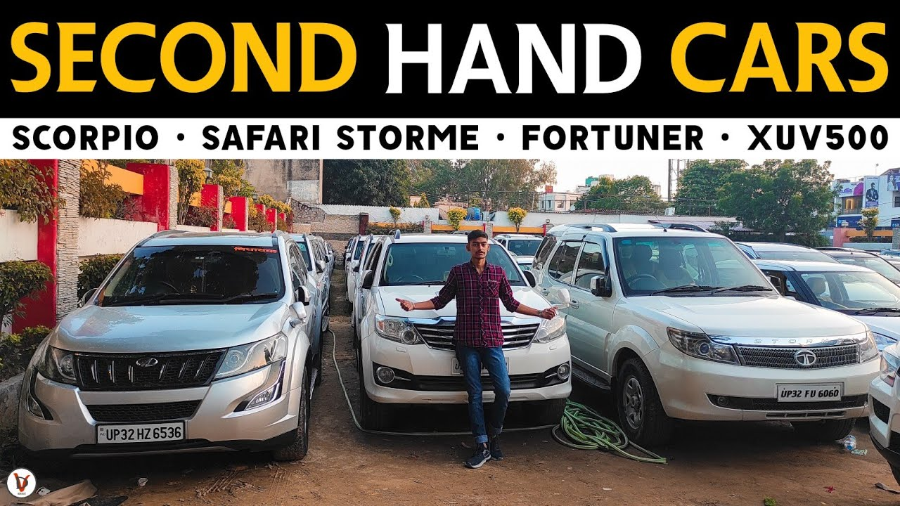 Second Hand Cars In Lucknow | Most Demanding Cars | Scorpio • Safari Storme • Fortuner • XUV500