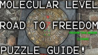 Fallout 4 The Molecular Level / Road to Freedom Puzzle Walkthrough - Find the Railroad