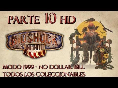 Bioshock Infinite Parte 10 Todos los Coleccionables-Guía paso a paso en HD-Modo 1999-Español