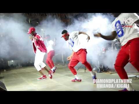 Diamond Platnumz - Live performance at Rwanda/kigali (part 1) thumbnail