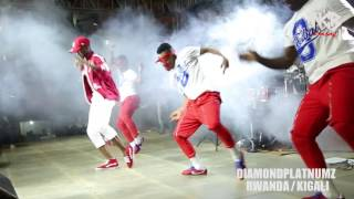 Diamond Platnumz - Live performance at Rwanda/kigali (part 1)