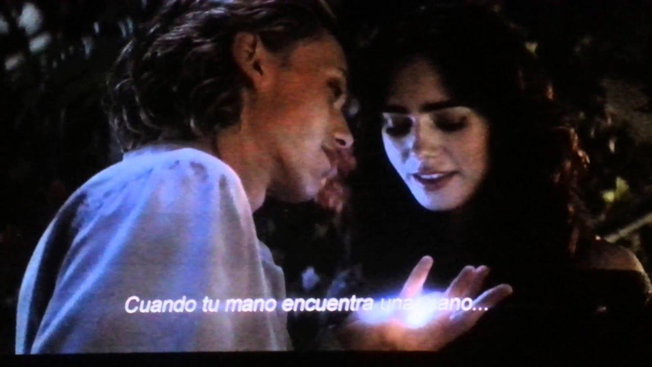 Cazadores de Sombras beso de Jace y Clary - YouTube