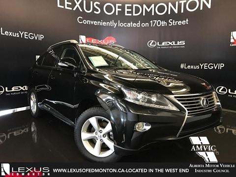 Used 2013 Black Lexus RX 350 AWD Premium Walkaround Review | Airdrie Alberta