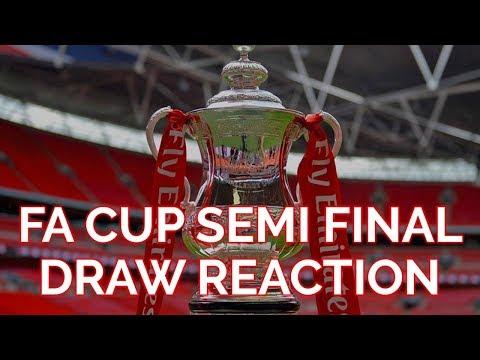Manchester United vs Tottenham | FA Cup Semi-Final Draw Reaction!