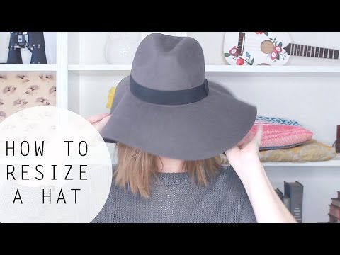 How To Resize a Hat That s TOO BIG! - YouTube d5d1594c0