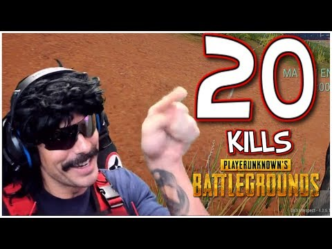 DrDisRespect's 20-Kill Duo Game with Halifax - PUBG HighOctane Gameplay (7/4/18) (1080p60)