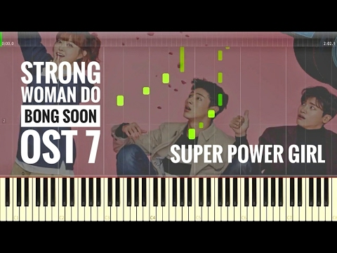 Strong Woman Do Bong Soon OST 7 | Every Single Day - Super Power Girl | Tutorial