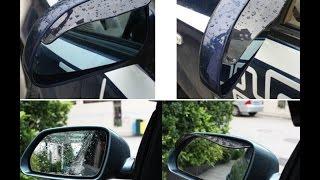 Накладки на боковые зеркала Авто с AliExpress Распаковка Обзор