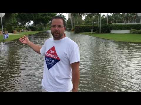King Tides in Hollywood Florida - Sea Level Rise
