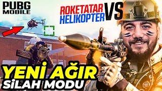 HELİKOPTER vs ROKETATAR! PUBG Mobile Yeni Güncelleme Ağır Silah Modu