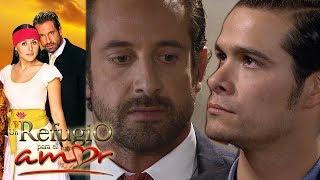 Un refugio para el amor - Capítulo 120: Rodrigo y Patricio se enfrentan por Luciana - tlnovelas
