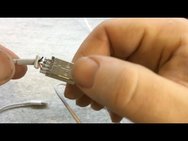 [DIAGRAM_38YU]  80 iPhone USB Cable Repairs, how to repair lightning cable, how to fix iPhone  cable - YouTube | Apple Lightning Cable 3 Wire Diagram |  | YouTube