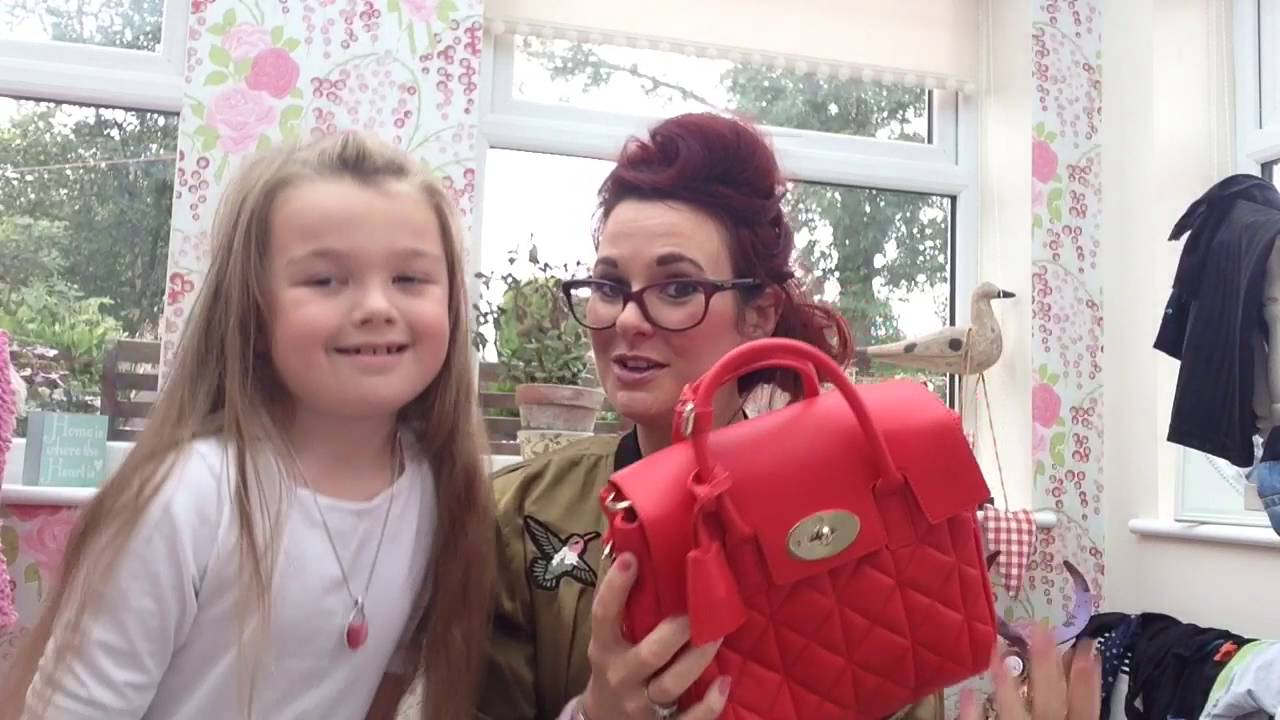 83c4cf546d Unboxing of a mulberry mini cara delevingne quilted fiery spritz bag wow  what a stunning handbag - YouTube