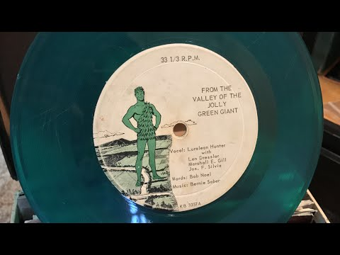 """""""From the Valley of the Jolly Green Giant"""" 1960's Jingle 7inch Record"""