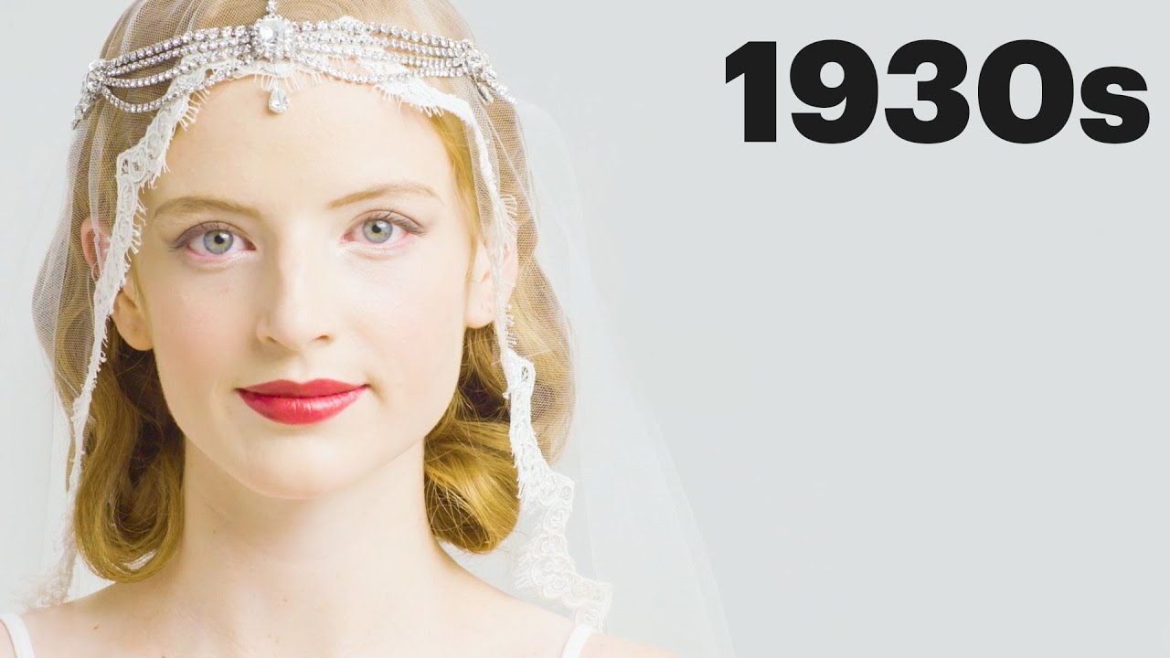 100 Years of Bridal Makeup | Allure