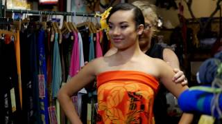 Hula Holoholo Dress East Honolulu Clothing Company Part 1