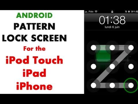 Add A Lock Pattern To Your IPhone, IPad Or IPod Touch With AndroidLock XT