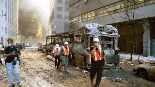 Toasted Vehicles Outside of WTC 7 - Raw Footage