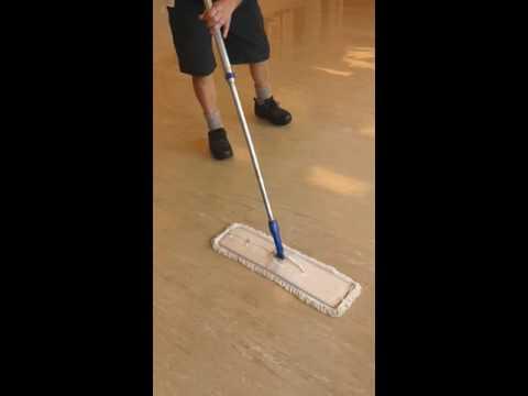 Applying Floor Polish To Vinyl Floors