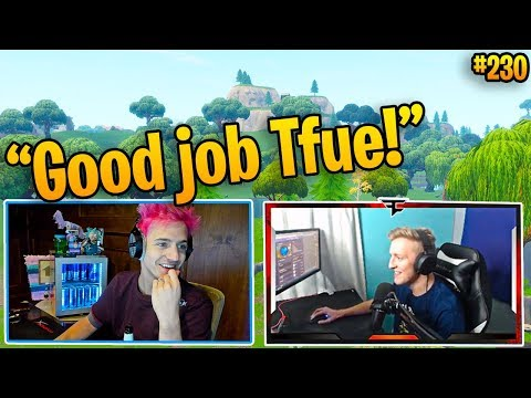 Ninja and Tfue DESTROY Pro Players!! (The Dream Duo!) | Fortnite Best and Funny Moments 230
