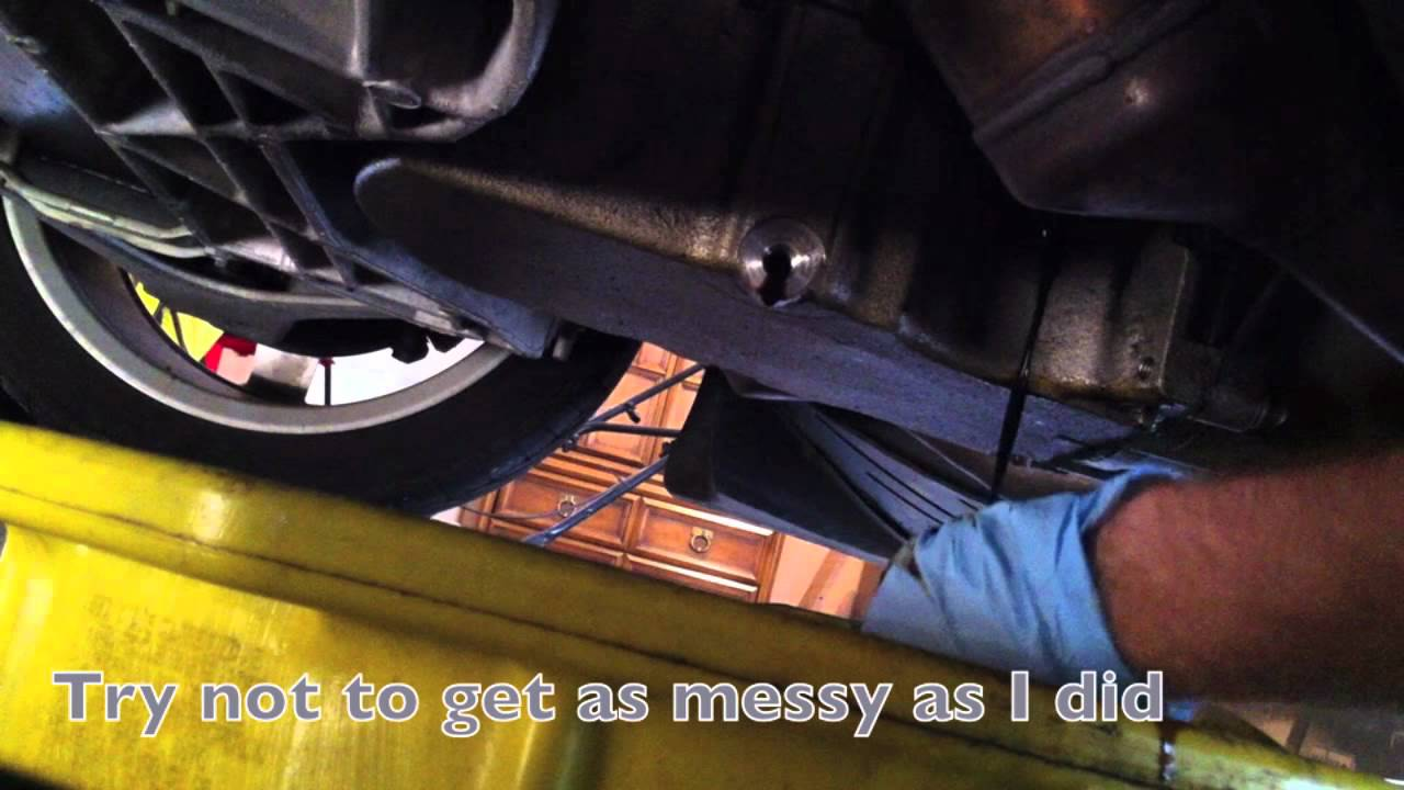 Diy 2007 Corvette C6 Base Oil Change Youtube