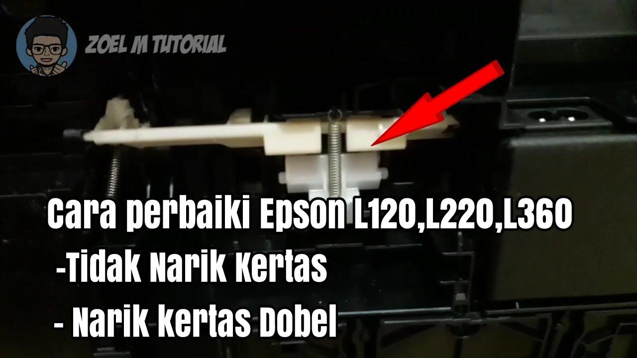 Cara Mengatasi Printer Epson L220 Menarik Kertas Dobel Paper Jam