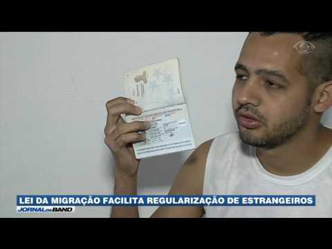Lei da Migração facilita regularização de estrangeiros