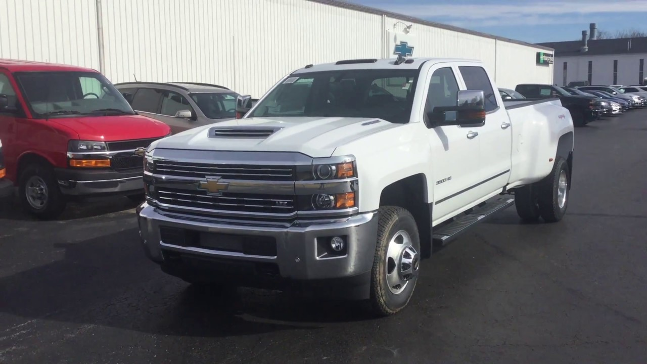 New 2017 Chevrolet Silverado 3500hd Crew Cab Standard Box 4 Wheel Drive Ltz