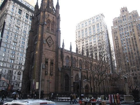 Inside Trinity Church at New York City
