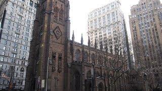 Inside Trinity Church at New York City